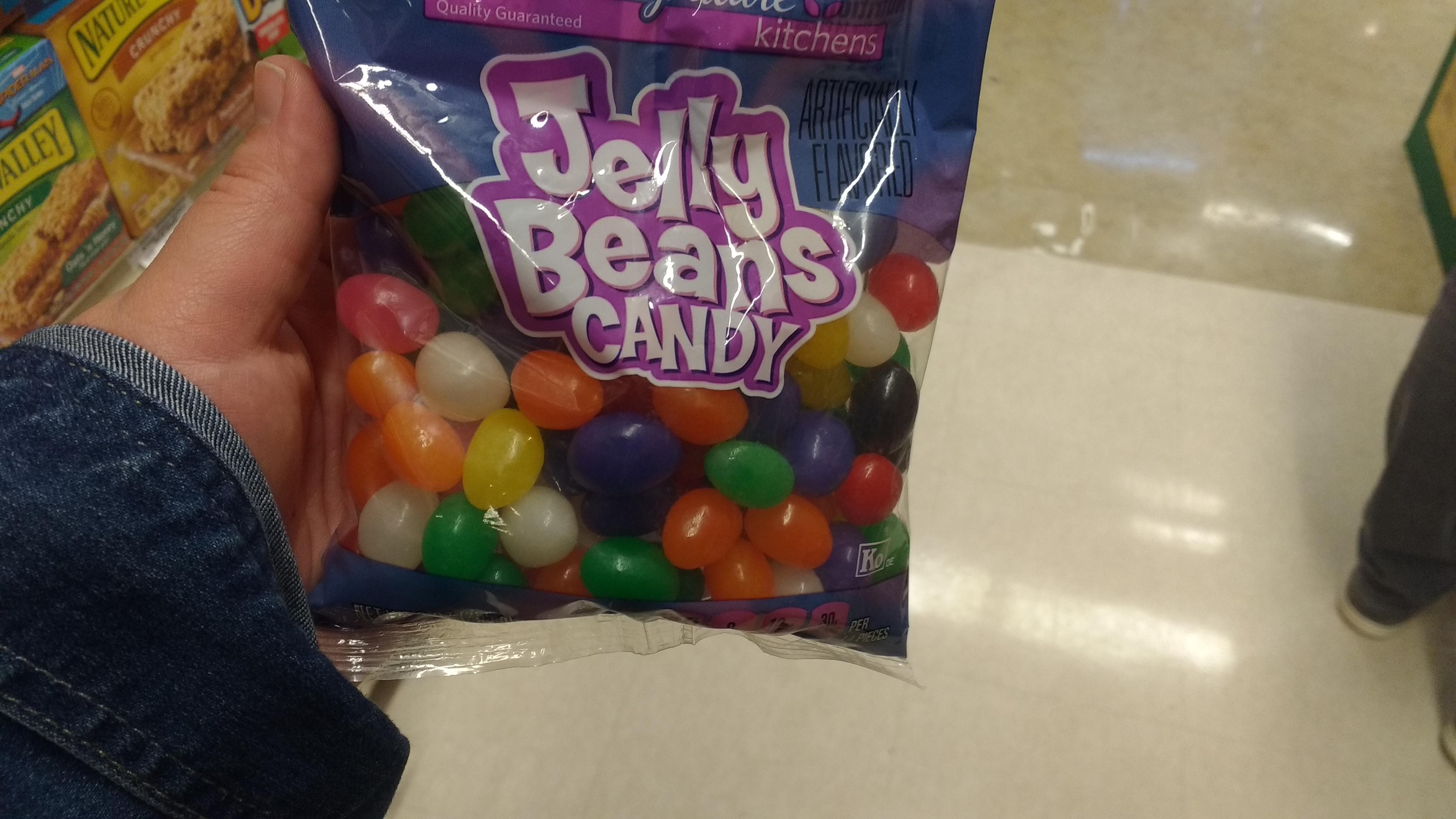 Jelly Beans oder doch schon Gelee-Ostereier?