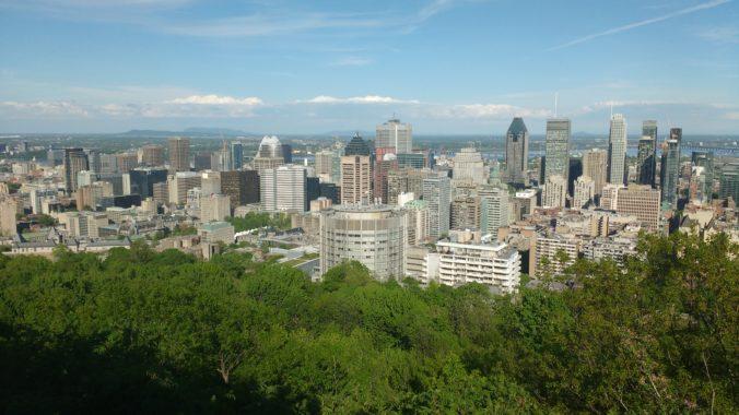 Blick vom Mount Royal
